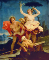 Giovanni Battista Tiepolo - Apollo und Daphne