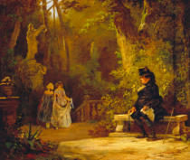 Carl Spitzweg - The Widower