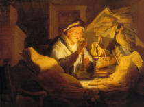 Harmensz van Rijn Rembrandt - The Money Changer