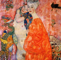 Gustav Klimt - Women Friends, 1916-17 (destroyed in 1945)