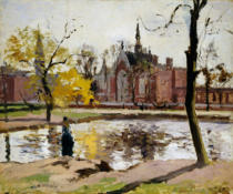 Camille Pissarro - Das Dulwich College in London