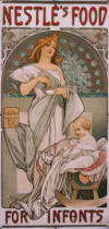 Alfons Maria Mucha - Plakat Nestlé's Food for Infants