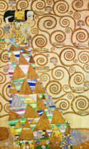 Gustav Klimt - Stoclet frieze / Anticipation