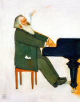 Willy von Beckerath - Johannes Brahms am Fl�gel