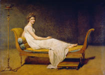 Jacques-Louis David - Bildnis Madame Récamier