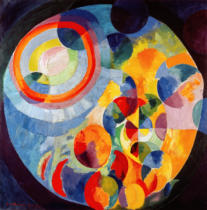 Robert Delaunay - Circular, Sun and Moon