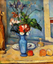 Paul Cézanne - The Blue Vase