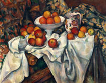 Paul Cézanne - Still life with apples and oranges