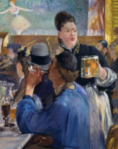 Edouard Manet - Waitress with Beerglasses