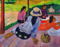 Paul Gauguin - Siesta