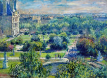 Claude Monet - Die Tuilerien in Paris