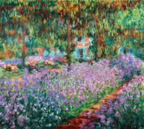 Claude Monet - The Artist's Garden at Giverny, 1900