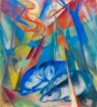 Franz Marc - Sleeping animals