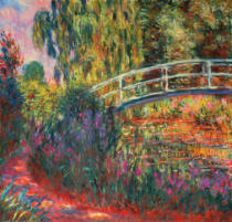 Claude Monet - The Japanese Bridge in the Garden at Giverney