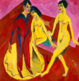Ernst-Ludwig Kirchner - Tanzschule. 1914