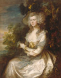Thomas Gainsborough - Bildnis Mrs.Thomas Hibbert