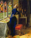 Sir John Everett Millais - Mariana in the moated grange