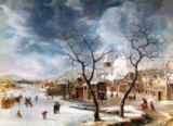 Jan Beerstraten - Winterlandschaft
