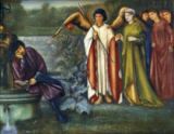 Sir Edward Burne-Jones - Chaucer's Dream of Good Women