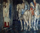 Sir Edward Burne-Jones - The Failure of Sir Gawain and Sir Ewain to Achieve The Holy Grail