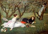 James Jacques Tissot - Frühling