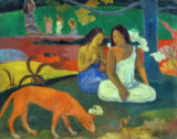 Paul Gauguin - Arearea - Der rote Hund