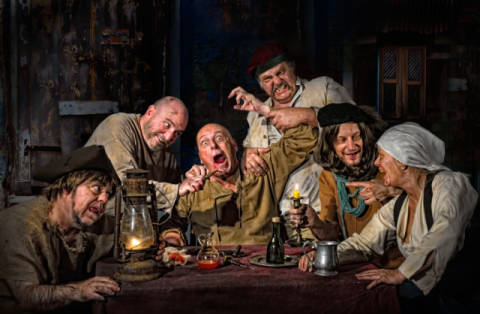 Derek Galon The Dentist Homage To Caravaggio Art Print Canvas On Stretcher