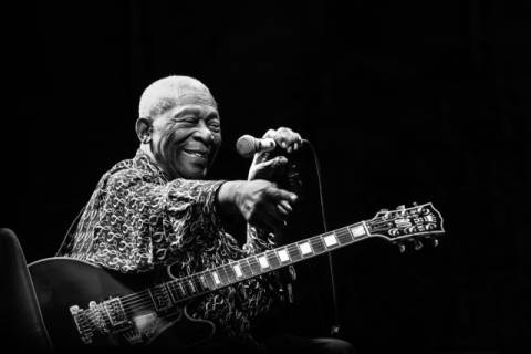 Photo Print: Alice Lorenzini, BB King