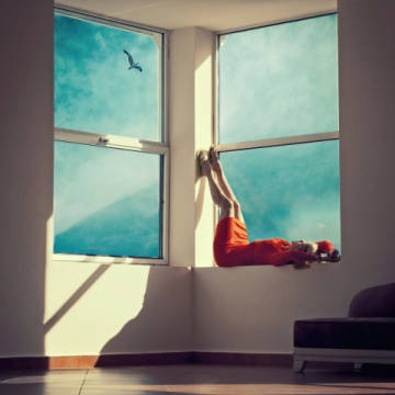 Photo Print: ambra, Room with a view