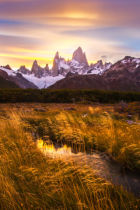 Dianne Mao - Mt Fitz Roy at Golden Hour