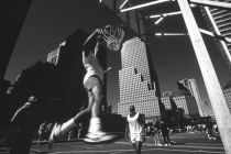 "Dieter Matthes - ""Dunking"" (from the series ""Metropolis"")"