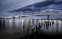 Toby Harriman - The Bay Bridge Lights San Francisco