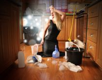 Angela Waye - Beauty Glamour Girl Cleaning House