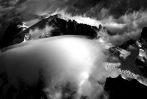 Roberto GIUDICI - Sommet du Mount Blanc with clouds