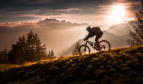 Sandi Bertoncelj - Golden hour biking
