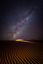 Photography by Karen McDonald - Milky Way over the Dunes of Sossusvlei, Namibia