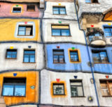 Yair Tzur - Windows of Hundertwasser
