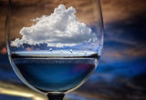 Chechi Peinado - Cloud in a glass