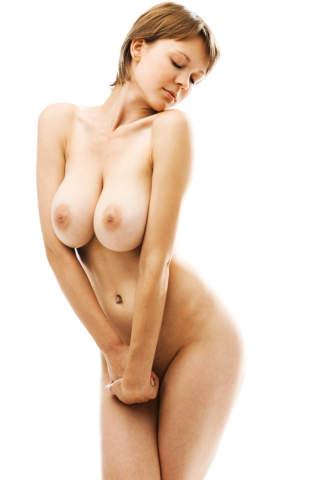 Den größten brüsten frau nackt mit Ein Mädchen