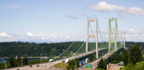 Christopher Boswell - Highway 16 crossing puget sound über tacoma narrows bridge