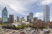 Philip Lange - Parking lot in Dallas Downtown, USA