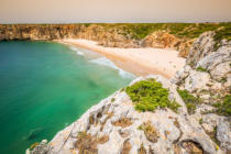 Lukasz Janyst - Beautiful bay and sandy beach of praia do beliche near cabo sao vicente,algarve region,portugal