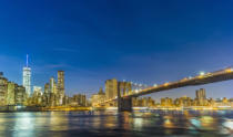Joerg Hackemann - Manhattan waterfront at night
