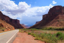 davide guidolin - Utah panorama, road in perspective