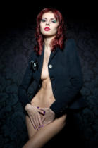 Raykin Dmitriy - Beautiful naked woman in a jacket